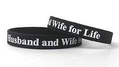 Black Wristband (1/2 Inch)