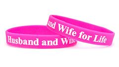 Pink Wristband (1/2 Inch)