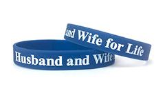 Royal Blue Wristband (1/2 Inch)